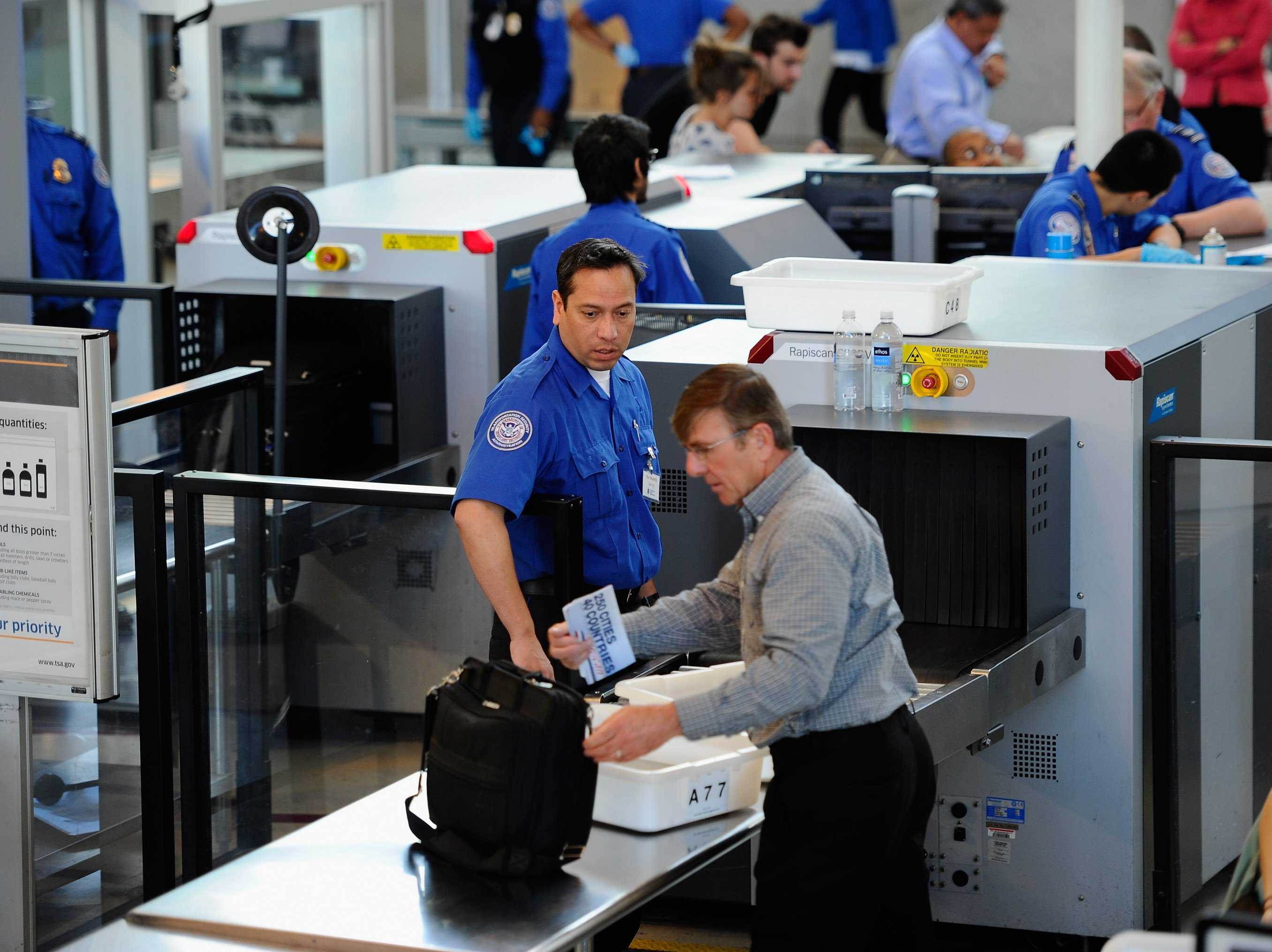 Airport Security Items