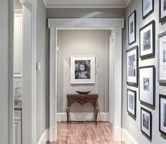 Paint Colors to Turn a Narrow Hallway Into a Wider One